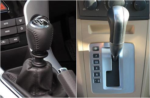 Est ndar vs automatico motor y dominio for Como se abre un cajero automatico