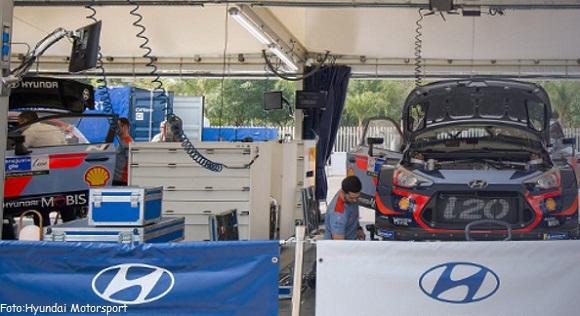 HYUNDAI MOTORSPORT DOS DÍAS DE RALLY MÉXICO WRC