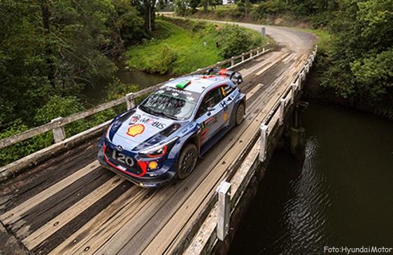 EL TITULO WRC SE DECIDE EN AUSTRALIA