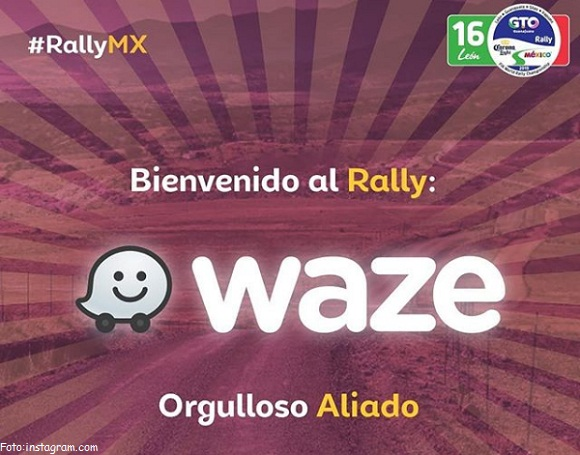 RALLY GUANAJUATO WRC Y WAZE CREAN ALIANZA HISTÓRICA