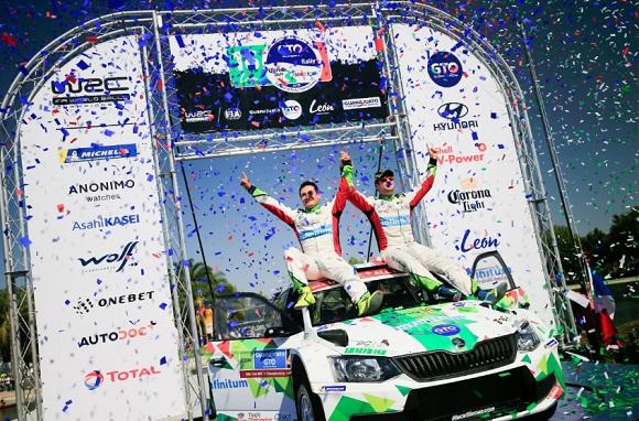 BENITO GUERRA GANA EL RALLY GUANAJUATO WRC2