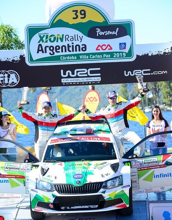 BENITO GUERRA ES LÍDER MUNDIAL DEL WRC2