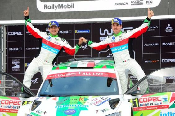 BENITO GUERRA SEGUNDO EN CHILE Y LÍDER DEL WRC2