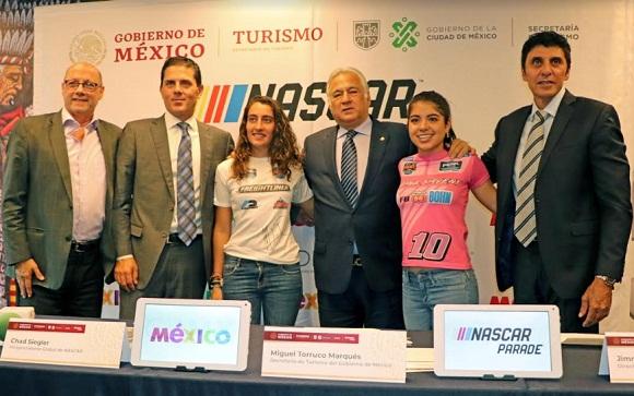 NASCAR MÉXICO DEJARÁ UNA DERRAMA DE CASI 55 MILLONES DE PESOS EN CDMX