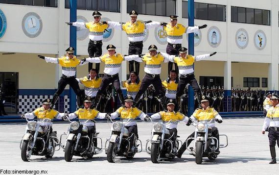 EQUIPO INTERNACIONAL DE MOTOCICLISMO DE ACROBACIA (SSPDF)
