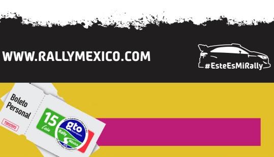 INICIA VENTA DE BOLETOS DEL RALLY GUANAJUATO WRC 2018 DE LA FIA
