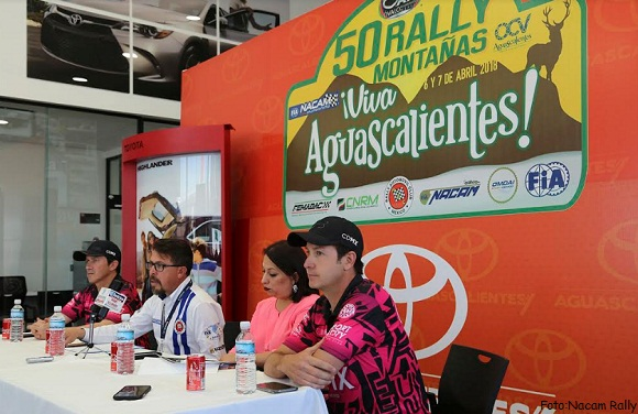 50 RALLY SIERRA FRÍA AGUASCALEINTES FIA NACAM