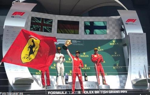 CONCLUYE GP DE FÓRMULA-1 GRAN BRETAÑA 2018