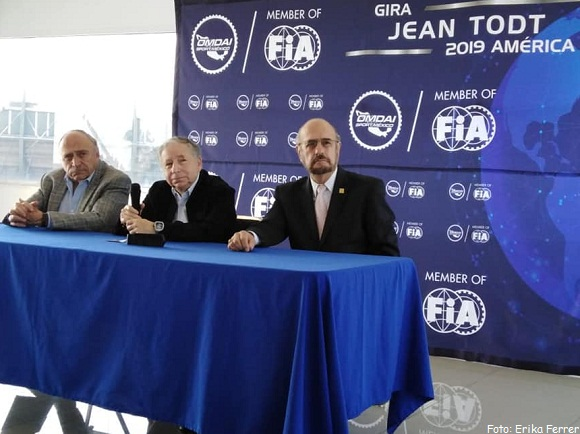 JEAN TODT PRESIDENTE DE (FIA) VISITA MÉXICO