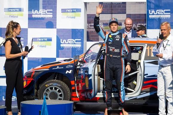 HYUNDAI SE MANTIENE LÍDER EN EL CAMPEONATO DE FABRICANTES DEL WRC