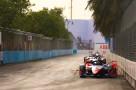 | Driver: Jerome D'Ambrosio| Team: Mahindra Racing| Number: 64| Car: M6 Electro|| Photographer: Shivraj Gohil| Event: Ad Diriyah E-Prix| Circuit: Ad Diriyah Circuit| Location: Riyadh| Series: FIA Formula E| Season: 2019-2020| Country: SA|| Session: Race|