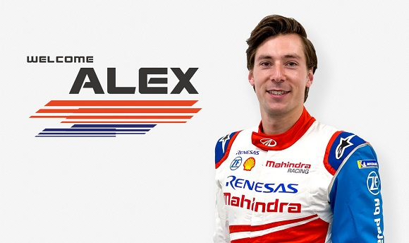 ALEX LYNN SE UNE A MAHINDRA RACING