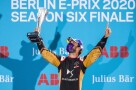 BERLIN TEMPELHOF AIRPORT, GERMANY - AUGUST 09: Jean-Eric Vergne (FRA), DS Techeetah, 1st position during the Berlin ePrix IV at Berlin Tempelhof Airport on Sunday August 09, 2020 in Berlin, Germany. (Photo by Sam Bloxham)