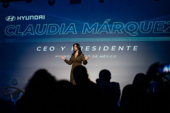 CLAUDIA MARQUEZ CUMPLE UN AÑO AL FRENTE DE HYUNDAI MOTOR DE MEXICO
