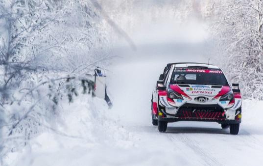 EL ARTIC RALLY DE FINLANDIA SE UNE AL WRC