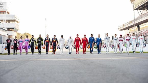CALENDARIO 2021 DE FORMULA-1 FIA