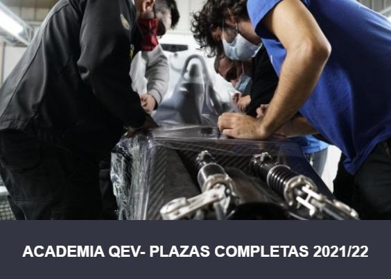 ACADEMIA QEV- PLAZAS COMPLETAS 2021/22